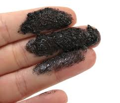 volcanic ashes on hand