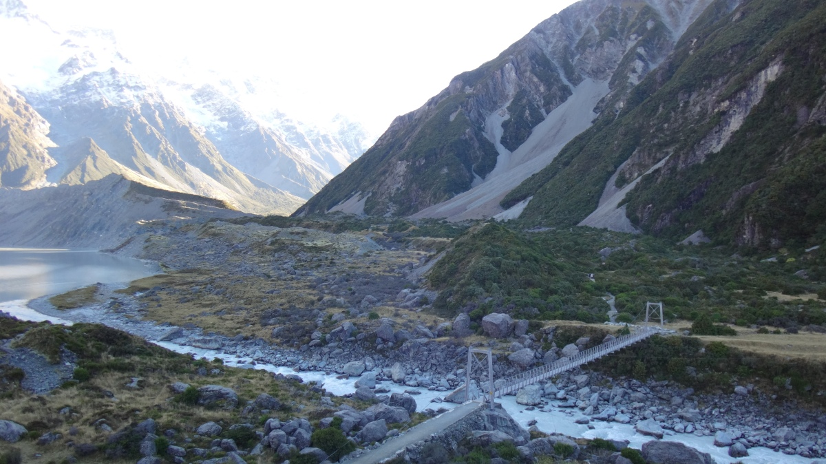 Hooker Valley, Mount Cook NZ