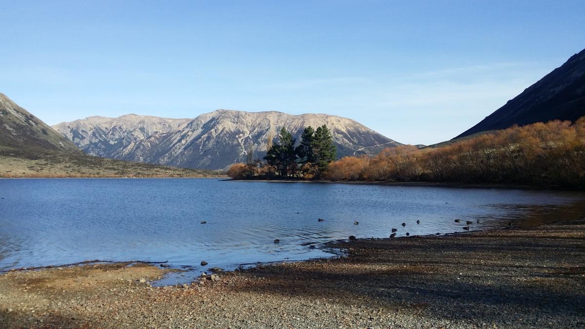 Lake Pearson NZ